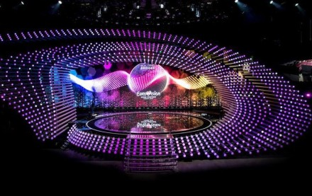 Eurovision stage